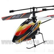 WLtoys V911 RC Helicopter BNF(No battery,No remote control)-Orange