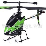 WLtoys V911 RC Helicopter BNF(No battery,No remote control)-Green