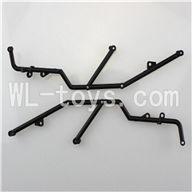 WL toys L959 L202 Parts-Roll Cage For Wltoys L959 RC Remote Control Car(2pcs)