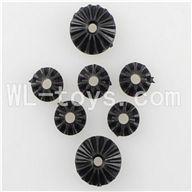 WLtoys L959 Motor Speed Control Planet Gear(2pcs Big & 5pcs small) Parts,Wltoys L959 Parts