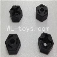WLtoys L959 Hexagon Wheel SeatParts-4pcs,Wltoys L959 Parts