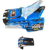 WLtoys L959 Body shell,Car Canopy,Car shell Parts-Blue