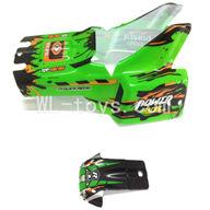 WLtoys L959 Car Canopy,Car shell Parts-Green