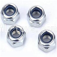 WLtoys L959 M4 locking Screws Parts-4pcs,Wltoys L959 Parts