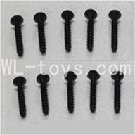WLtoys L959 Socket Head Screw Parts-Set 2.6x12mm Parts-10pcs,Wltoys L959 Parts