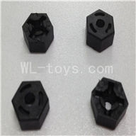 WLtoys L969 Hexagon Wheel Seat Parts-4pcs,Wltoys L969 Parts