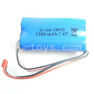 Wltoys L969 1500mAh-7.4v-Red-JST-Plug-Battery(Can only be used for L959)