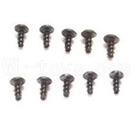 WLtoys L969 Round Head Screws PWA 2.6x4mm Screw-10pcs,Wltoys L969 Parts