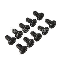 WLtoys L969 Round Head Screw Parts-Set 1.8x3mm-10pcs,Wltoys L969 Parts