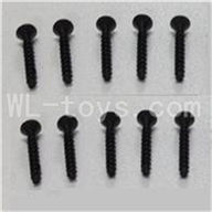 WLtoys L969 Socket Head Screw Parts-Set 2.6x12mm-10pcs,Wltoys L969 Parts