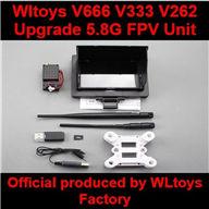 WLtoys V666 Upgrade 5.8G FPV Unit Parts,Wltoys V666 Quadcopter Parts
