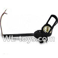 WLtoys V666 Reversing-rotating Motor Assembly-With blue and White wire