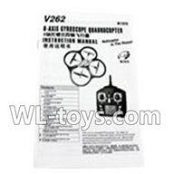 WLtoys V666 Manual Parts,Wltoys V666 Quadcopter Parts