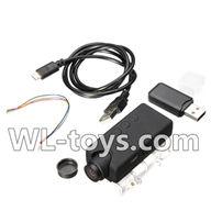 WLtoys V666 5,000,000 Pixels,1080P HD Camera unit(Include camera,USB,Data line,Wire) Parts