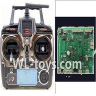 WLtoys V666 Transmitter & Circuit board Parts,Wltoys V666 Quadcopter Parts
