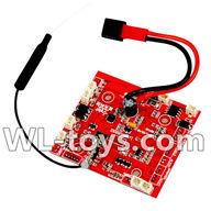 WLtoys V666 Circuit board,Receiver board Parts,Wltoys V666 Quadcopter Parts