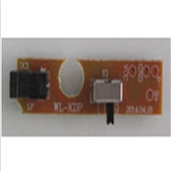 WLtoys V666 Switch board for the Display