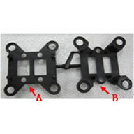 WLtoys V666 Shock absorber parts A and B Parts,Wltoys V666 Quadcopter Parts