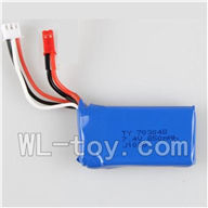 WLtoys V915 Parts-Official 7.4v 850mah battery