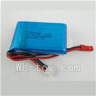WLtoys V915 Parts-Upgrade 7.4v 1000MAH Battery