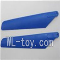 WLtoys V915 Parts-Main rotor blade(2pcs)-Color Random