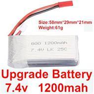 Wltoys A969 Upgrade 1200mah battery Parts,Wltoys A969 Parts
