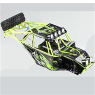Wltoys 10428 Body shell unit,Whole Car shell unit(Include Car shell,All Rollcage),Wltoys 10428 Parts