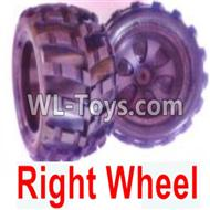 Wltoys 18402 Whole Right wheel unit(Include the Wheel hub,tire lether)-2 set-0929,Wltoys 18402 Parts