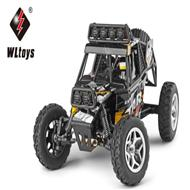 WLtoys 18428 rc car Wltoys 18428 High speed 1/18 1:18 Full-scale rc racing car,1: 18 Nini Electric four-wheel-climbing car with Brake Function-Black color