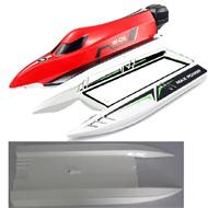 Wltoys WL915 Parts-The Upper body shell cover-Red & The Middle and Bottom body shell cover,Wltoys WL915 Boat Parts