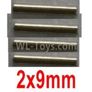 Wltoys 10428-B2 Optical axis-2X9mm(4pcs)-12401.0299,Wltoys 10428-B2 Parts