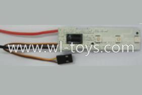 WLtoys V393 Parts-ESC with Blue light(11.1V 20A)