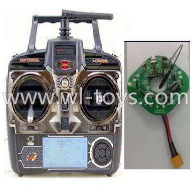 WLtoys V393 Parts-Transmitter,Remote control & Circuit board